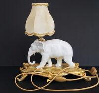 Tisch - Art Deco Lampe - Elefant - Ernst Bohne Söhne Rudolstadt 1930