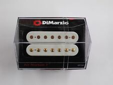 DiMarzio Air Norton 7 String White W/Gold Poles DP 793