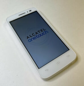"""T-Mobile ALCATEL ONETOUCH POP ASTRO 4.5"""" White Smartphone Android"""