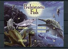 Grenadines Grenada 2005 MNH Prehistoric Fish 4v M/S Europholis Ichthyosaurus