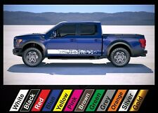 2pcs stickers Ford F-150 Raptor graphics side stripe decal sticker #5