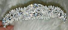 Swarovski Crystal Rhinestone Bridal  Tiara