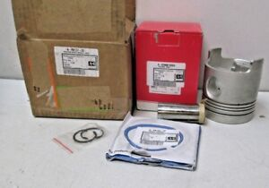 """A&I Products Piston with Rings (.030"""") (1981-7/1987) for Ford A-RK157-30 NEW"""