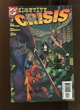 IDENTITY CRISIS #3 (9.2) SIGNED BY TURNER METLZER & RAGS! 2004