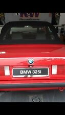 BMW 325i Werbe Kennzeichen Verkaufskennzeichen Original BMW