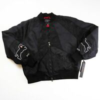 Cult of Individuality mens varsity Jacket size Medium 100%AUTHENTIC black Tokyo