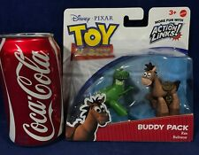 New - REX & BULLSEYE - Toy Story BUDDY PACK 2 Figures - ACTION LINKS