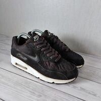 Nike Air Max 90 Black Ivory Trainiers Size UK 6