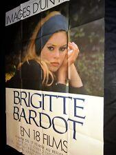 brigitte bardot  ! rare  affiche cinema promo