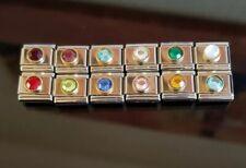 Birthstone Charm for Italian Charm Bracelet Charms Link