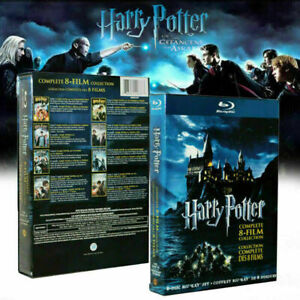 HarryPotter Complete 1-8 Movie DVD Collection Films Box Set As Easter Gifts