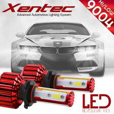 120W 12800LM LED headlight Kit 9004 HB1 Hi & Low Beams 6000K White Pair Bulbs