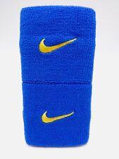 "Nike Promo Premier Wristbands Game Royal/Varsity Maize 3"" Men's Women's"