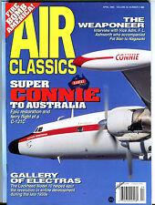 Air Classics Magazine April 1996 Connie C-121C EX 080116jhe