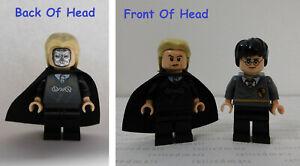 2 LEGO Minifigures LUCIUS MALFOY & HARRY POTTER Freeing Dobby Set #4736 Minifigs
