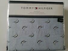 NEW Tommy Hilfiger  TWIN 3 PC Sheet Set  Blue Oxford Stripe