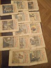 lot de 13 revues le pelerin 1934