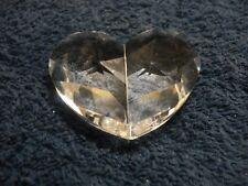 Swarovski Crystal Large Clear Heart Beautiful