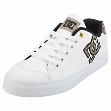 DC Shoes Chelsea Plus Se Sn Womens White Tan Synthetic Casual Trainers