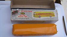 DINKY 949 WAYNE USA SCHOOL BUS EXCELLENT ORIGINAL IN GOOD WORN ORIGINAL BOX.