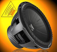 kicker CWQ152 38cm subwoofer, 1100 WRMS, 1 od. 4 ohms double voice coil