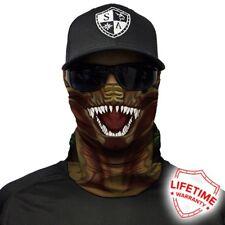SA Co Dino Face Neck Shield Mask Seamless Bandana Motorbike Tube