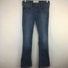 "Hollister Jeans Juniors 5S Boot Distressed 30"" Inseam"