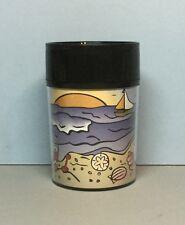 Starbucks (Beach Theme) 8oz. Acrylic Thermo-Serv Tumbler (1997) HTF