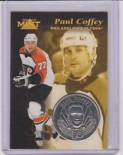 RARE 1996-97 PINNACLE MINT PAUL COFFEY SILVER / NICKEL COIN & CARD #20