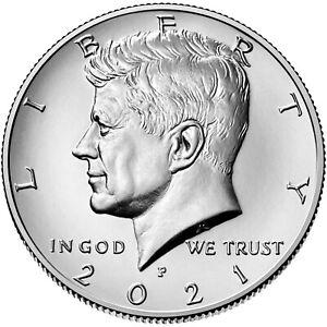 2021- P & D JOHN F KENNEDY HALF DOLLAR COIN SET (BU) ** PRE SALE**