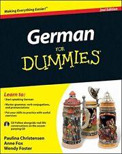 German For Dummies-Paulina Christensen, Anne Fox, Wendy Foster