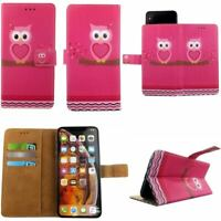 Premium Leather Mobile Phone Wallet Book Case For Nokia 8 Sirocco -L
