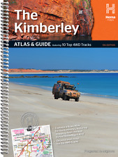 HEMA THE KIMBERLEY ATLAS AND GUIDE 4WD 4X4 OFFROAD TOURING