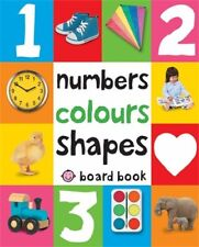 Numbers Colours Shapes First 100 Soft to Touch Beginner Board Books For Toddler