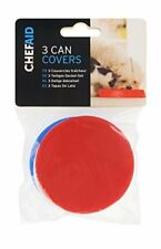 Chef Aid W863 - 3 Pet Food Can Covers
