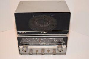 Vintage Hallicrafters S-107 Receiver & Model R48-A Speaker