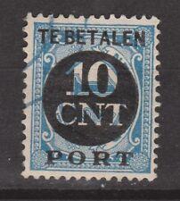 P67 Port nr 67 gestempeld used NVPH Netherlands Nederland Pays Bas due portzegel