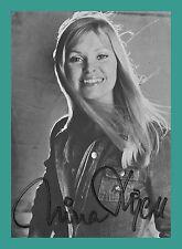NINA LIZELL | Sängerin | Original-Autogramm auf Jupiter-Records-Starkarte