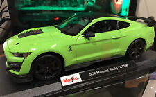 Maisto 1:18 2020 Ford Mustang Shelby GT500 Diecast Model Racing Car