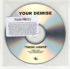 (GI594) Your Demise, These Lights - 2012 DJ CD