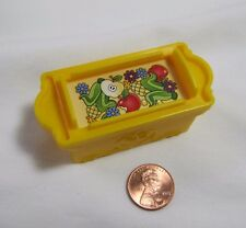 New Fisher Price Little People APPLES CORN FOOD CRATE Farm Nativity for Animals