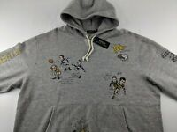 NEW Polo Ralph Lauren St. Andrew 2XB Big Grey Rugby Hoodie RRL Casual Party