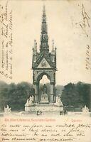 London. The Albert Memorial, Kensington Gardens (Stengel & Co.) 1890s. Undivided