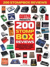 Guitar World Presents 200 Stompbox Reviews Sheet Music Guitar Book 000123825