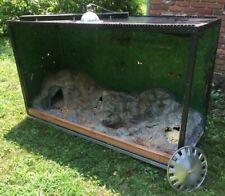 Reptile Enclosure Habitat For Pet Lizard Snake House Tank Cage Display Terrarium