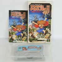 WONDER PROJECT J Super Famicom Nintendo ccc sf