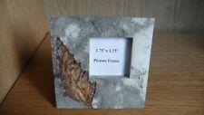 leaf design resin photo frame