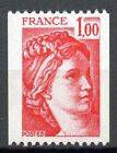STAMP / TIMBRE FRANCE NEUF N° 1981 ** TYPE SABINE ROULETTE