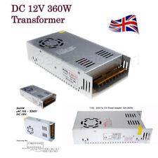 DC12V 360 W conducteur Commutation d'Alimentation Transformateur pour DEL Bande CCTV MR16