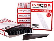 600 Abbrechklingen für Cuttermesser 18mm Cutter Klingen Cuttermesserklingen